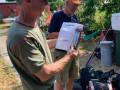 FRK. CAMILLA's skipper Jimmy Jensen modtager førstepræmien. Jimmy og hans faste fiskemakker, Jørgen Als, er ivrige sportsfiskere. De fik en 10. plads i DM i trolling 5. - 6. juni 2021 i Køge. Jimmy tog desuden titlen som kombineret klubmester 2020 i Sjællands Småbådsfiskeklub, mens Jørgen blev nummer tre.